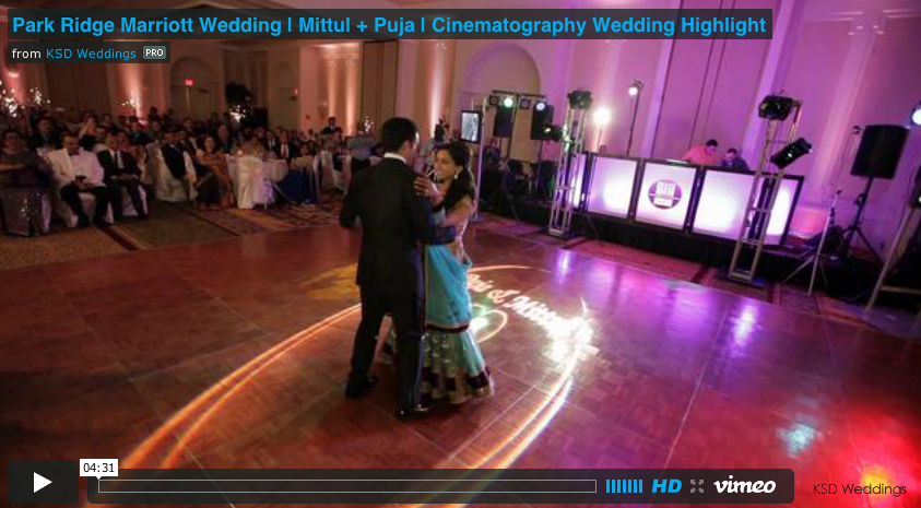 Featured: Maharani Weddings  Mittul + Puja | Marriott Park Ridge NJ