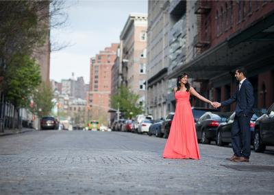 Saloni + Vijay | Tribeca Engagement Session