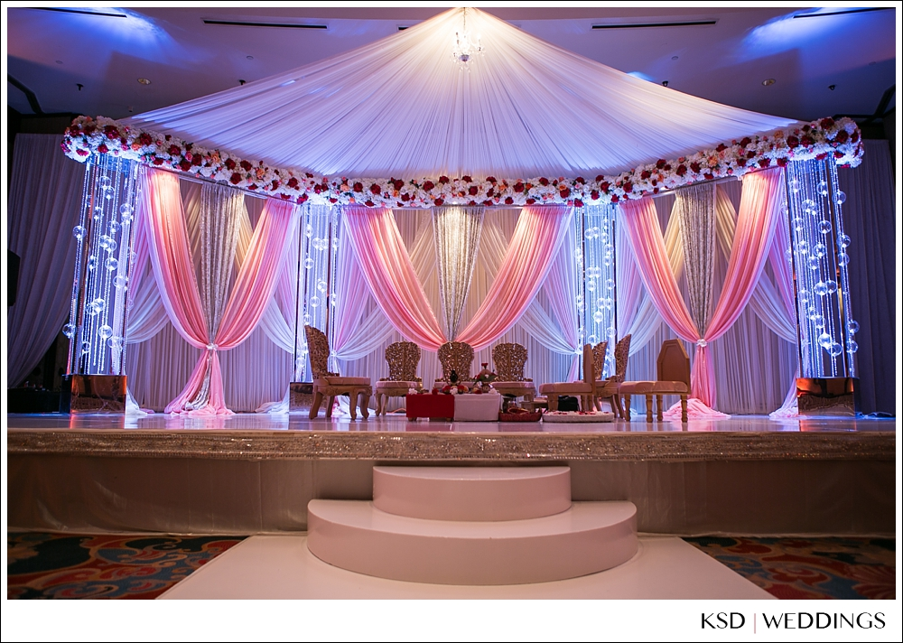 Elegant Affairs Sw Hilton Anatole Dallas Indian Wedding