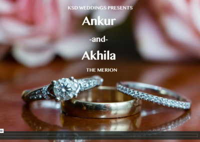 Akhila + Ankur | The Merion Cinnaminson NJ
