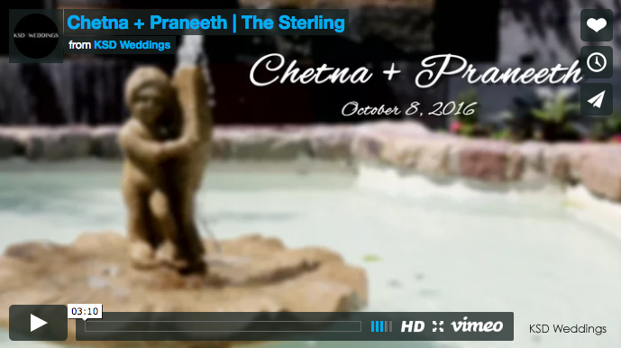 Chetna + Praneeth | The Sterling