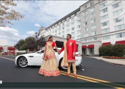 Priya + Ketan   Bridgewater Marriott