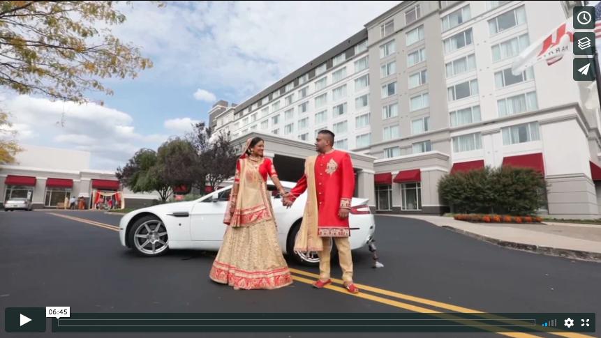 Priya + Ketan | Bridgewater Marriott | Cinematography Highlight